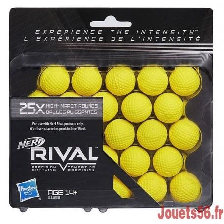25 BILLES MOUSSE RECHARGES NERF RIVAL-jouets-sajou-56