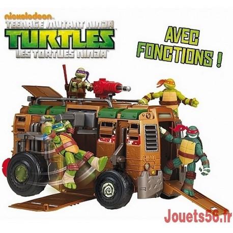 CAMION DE COMBAT TORTUES NINJA-jouets-sajou-56