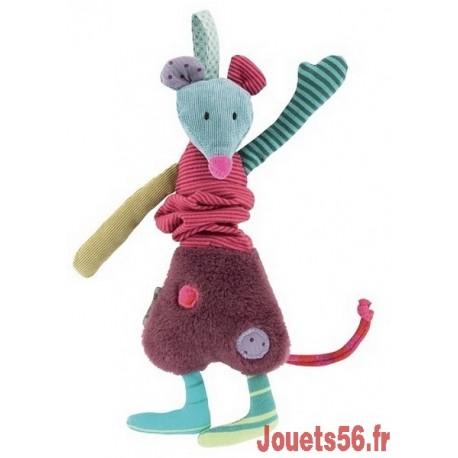 SOURIS VIBREUR JOLIS PAS BEAUX-jouets-sajou-56