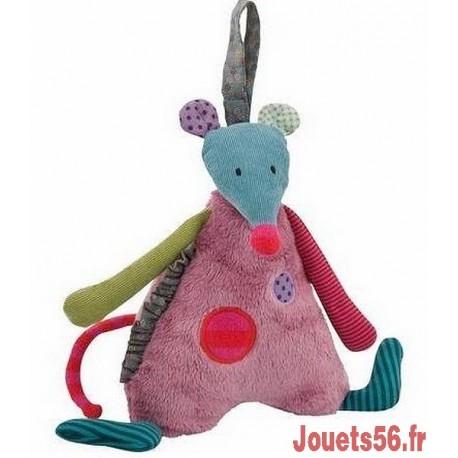 SOURIS MUSIQUE JOLIS PAS BEAUX-jouets-sajou-56
