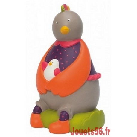 TIRELIRE POULE LES COUSINS DU MOULIN-jouets-sajou-56
