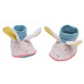 CHAUSSONS LAPIN MADEMOISELLE ET RIBAMBELLE