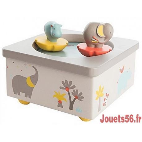 BOITE A MUSIQUE LES PAPOUM-jouets-sajou-56