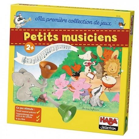 PETITS MUSICIENS MA PREMIERE COLLECTION DE JEUX-jouets-sajou-56