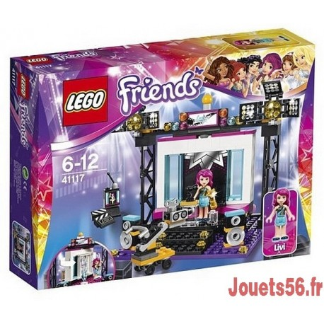 41117 LE PLATEAU TV POP STAR FRIENDS-jouets-sajou-56