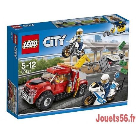 60137 LA POURSUITE DU BRAQUEUR CITY-jouets-sajou-56