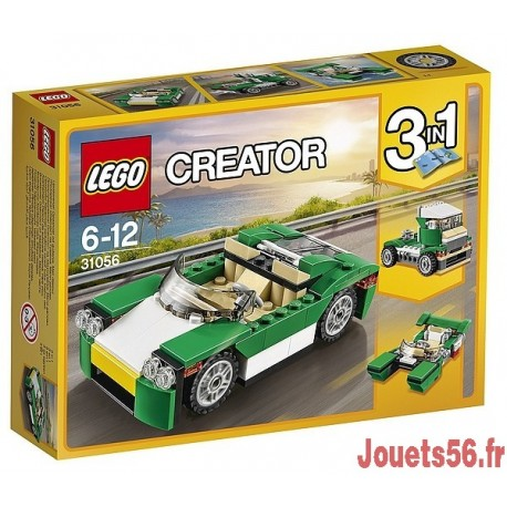 31056 LA DECAPOTABLE VERTE CREATOR-jouets-sajou-56