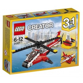 31057 HELICOPTERE ROUGE CREATOR-jouets-sajou-56
