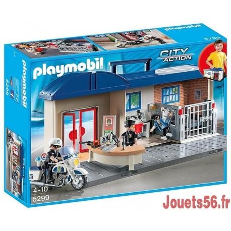 5299 COMMISSARIAT DE POLICE-jouets-sajou-56