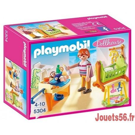 5304 CHAMBRE DE BEBE-jouets-sajou-56