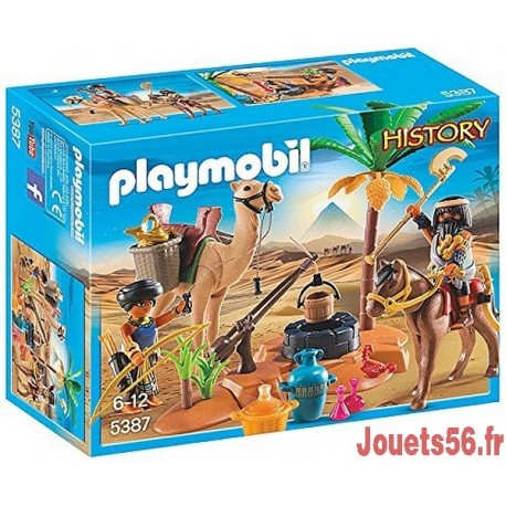 5387 PILLEURS EGYPTIENS AVEC TRESOR-jouets-sajou-56