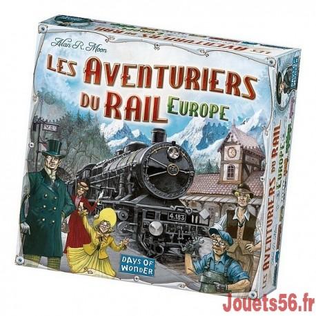 LES AVENTURIERS DU RAIL EUROPE-jouets-sajou-56