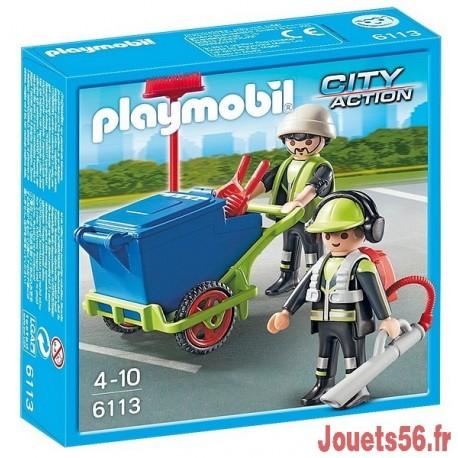 6113 EQUIPE ENTRETIEN DE VOIRIE-jouets-sajou-56
