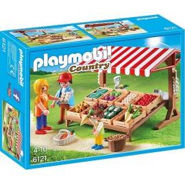 6121 MARCHAND AVEC ETAL DE LEGUMES-jouets-sajou-56