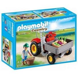 6131 FERMIER AVEC FAUCHEUSE-jouets-sajou-56