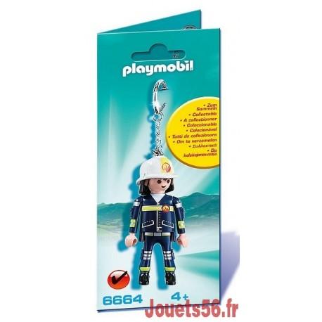 6664 PORTE-CLES POMPIER-jouets-sajou-56