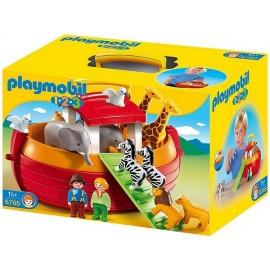 6765-Arche de Noé transportable 1.2.3-jouets-sajou-56