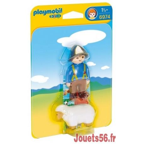 6974 GARDIEN ET MOUTON PLAYMOBIL 123 -jouets-sajou-56