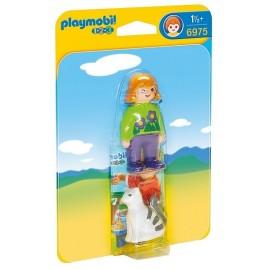 6975 SOIGNEUR AVEC CHAT PLAYMOBIL 123 -jouets-sajou-56