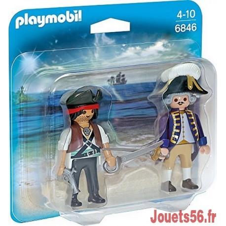 6846 DUO PIRATE ET SOLDAT ROYAL-jouets-sajou-56