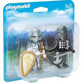 6847 DUO CHEVALIER NOIR ET CHEVALIER ARGENT-jouets-sajou-56