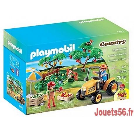 6870 COUPLE DE FERMIERS AVEC VERGER STARTER SET-jouets-sajou-56