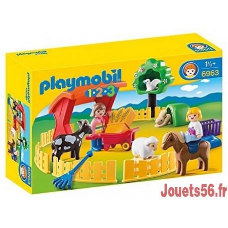 6963 PARC ANIMALIER PLAYMOBIL 123 -jouets-sajou-56