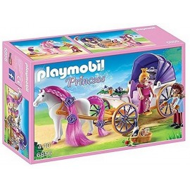 6856 CALECHE ROYALE ET CHEVAL A COIFFER PLAYMOBIL PRINCESS