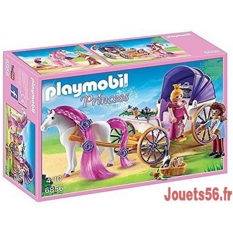 6856 CALECHE ROYALE ET CHEVAL A COIFFER-jouets-sajou-56