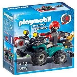 6879 QUAD AVEC TREUIL ET BANDIT-jouets-sajou-56