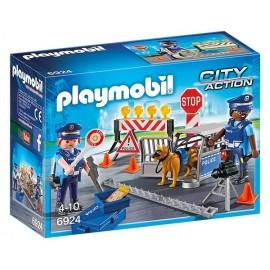 6924 BARRAGE DE POLICE-jouets-sajou-56