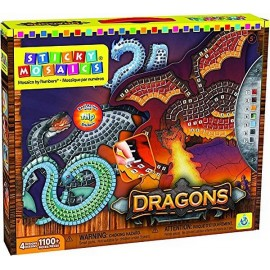 STICKY MOSAICS DRAGONS -NEW ART--jouets-sajou-56