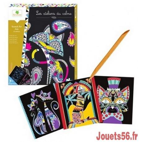 SCRATCH ART CHATS LES ATELIERS DU CALME-jouets-sajou-56