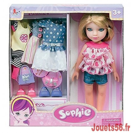 POUPEE DRESSING 30CM-jouets-sajou-56