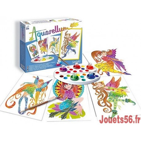 AQUARELLUM JUNIOR NYMPHES-jouets-sajou-56