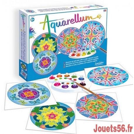 AQUARELLUM MANDALAS ANIMAUX-jouets-sajou-56