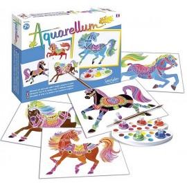 AQUARELLUM JUNIOR CHEVAUX-jouets-sajou-56