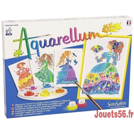 AQUARELLUM JUNIOR PRINCESSE FLEUR -jouets-sajou-56