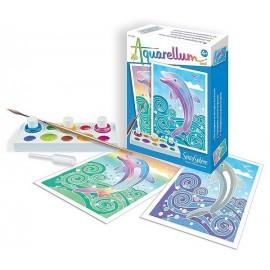 AQUARELLUM MINI DAUPHINS-jouets-sajou-56