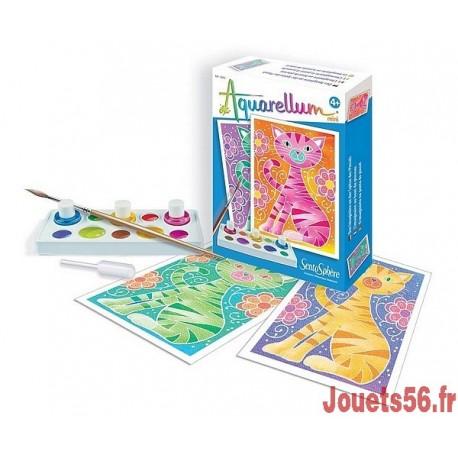 AQUARELLUM MINI CHATS-jouets-sajou-56