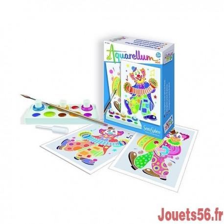 AQUARELLUM MINI CLOWNS-jouets-sajou-56
