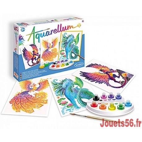 AQUARELLUM ANIMAUX MYTHIQUES-jouets-sajou-56