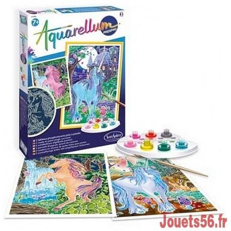 AQUARELLUM PHOSPHO . LICORNES-jouets-sajou-56