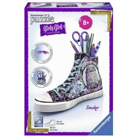 PUZZLE 3D GIRLY GIRL SNEAKER 108 PCES