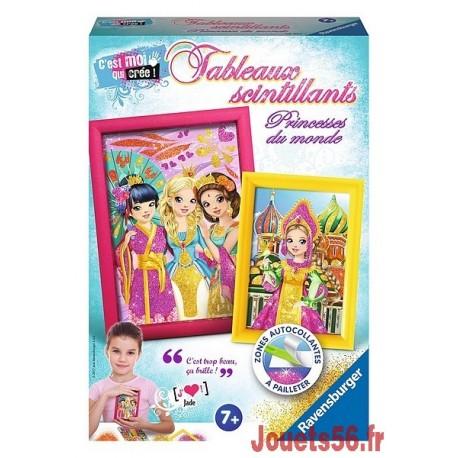 TABLEAUX SCINTILLANTS PRINCESSES DU MONDE-jouets-sajou-56