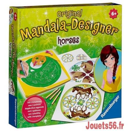 Mandala designer chevaux - Mandala de chevaux ...