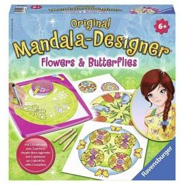 MANDALA DESIGNER FLEURS ET PAPILLONS-jouets-sajou-56