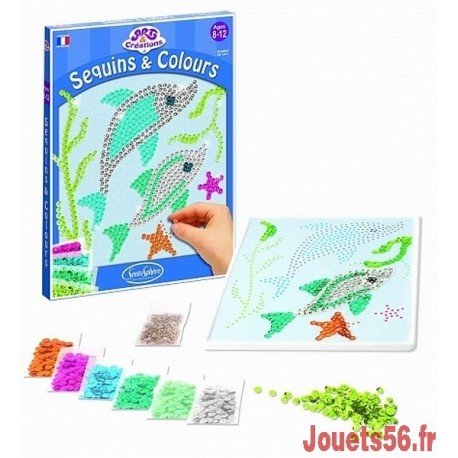 DAUPHINS SEQUINS ET COULEURS-jouets-sajou-56