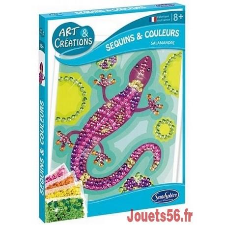 SALAMANDRE SEQUINS ET COULEURS-jouets-sajou-56