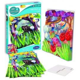 TABLEAUX 3D FORET D'ASIE-jouets-sajou-56